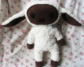 Fluffy Sheep Plush (Reserved)