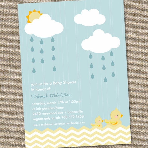 rubber duckie baby shower invitation rubber ducky invitation rubber