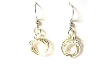 Infinity Love Knot Earrings