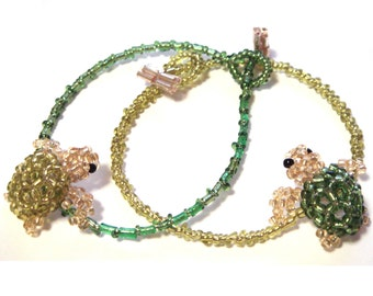 Friendship bracelets - Turtle lovers