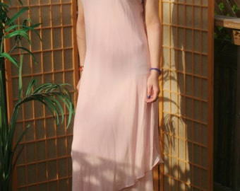 Light baby pink dress by SIMPLY SILK sz XL