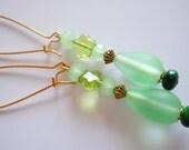 Mint beauty dangle earrings reserve NINI