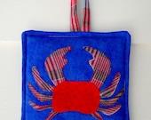 Crabby Crab Pot Holder Pattern
