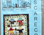 """Mr. Scarecrow Miniature Quilt Pattern, 8"""" x 10"""", by Jeans Impressions"""