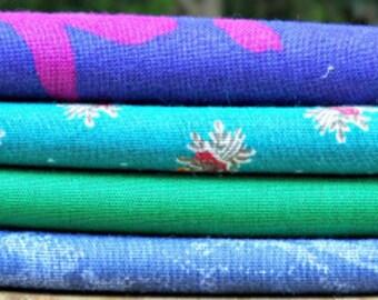 "Vintage Fabric Fat Quarter Sampler ""Adelia"""
