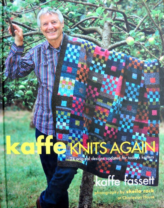 Kaffe Knits Again - 24 original designs updated for today's knitters - by Kaffe Fassett