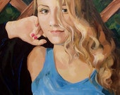 Classical Realistic Portrait from your photo - oil on canvas original painting