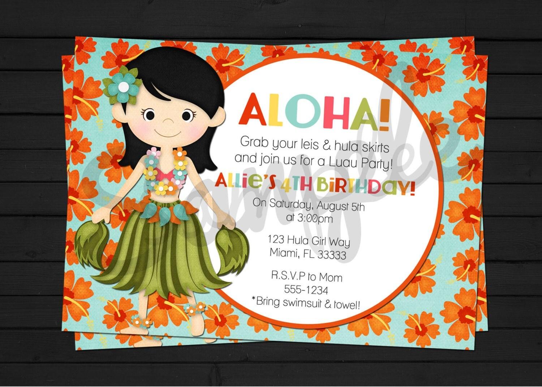 Birthday Invitation Pool Party as amazing invitation template