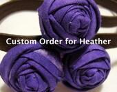 Custom Headband for Heather G