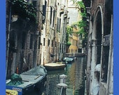 Mysterious Canal in Venice, Italy - Photo on Card or Enlargement