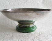 SALE bakelite and silverplate bowl