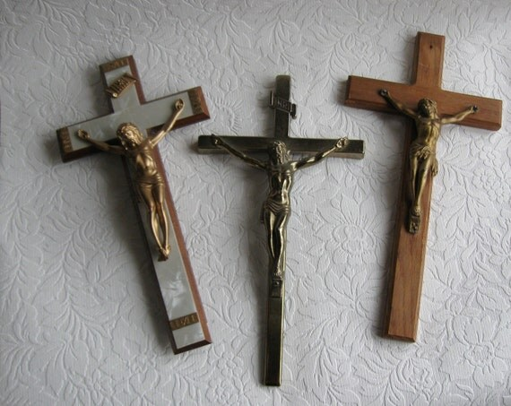 three crucifixes