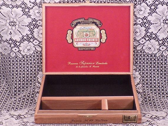 CIGAR BOX VALET Arturo Fuente Reserva Anejo Limitada No. 49