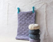 "Lavender cotton cowl / crochet vegan chunky - Coupon ""SPECIAL"" - 15% OFF"