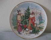 Avon Collectible 1990 Christmas Plate