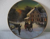 Avon 1988 Collectible Christmas Plate