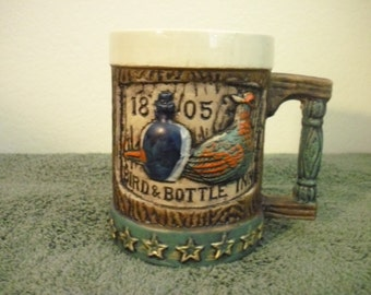 Napco 1805 Bird & Bottle Inn Collectors Mug