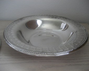 Vintage Reed and Barton Vegetable Bowl 1212 Silverplate