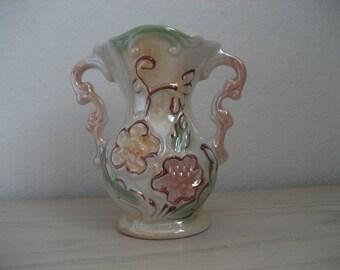 Vintage Lusterware Vase 423 Made in Brazil