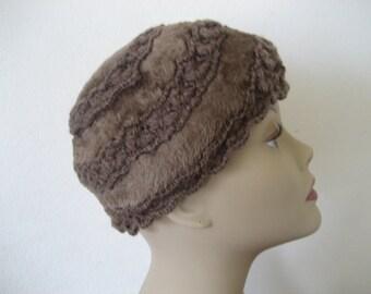 SALE Vintage Brown Musketeer Hat