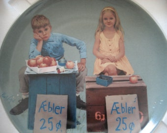 Vintage Collectors Plate by Kurt Ard Unfair Competition From Moments of Truth