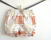 On sale. Baby girl fancy bloomers, diaper cover. Size 12-18 months, ready to ship.