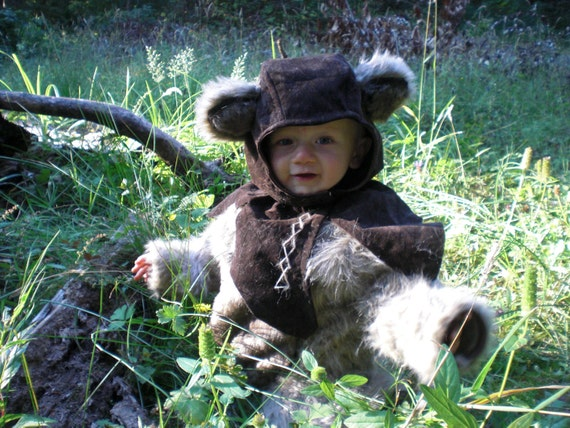 Baby Ewok Costume 18 Month By Mossyrosecb On Etsy