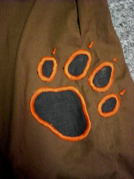 RESERVED for Skye - Wolf Paw Pants