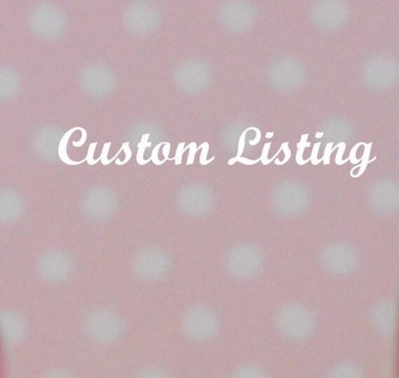 Custom listing for Rashida