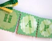 Happy St Patricks Day Mini Garland
