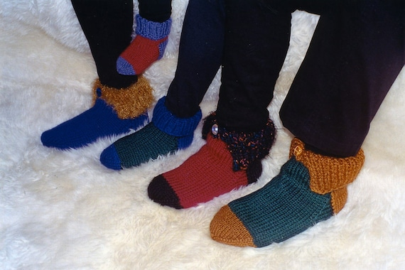 knitting Pattern : House Socks Fiber Trends Christmasdiy