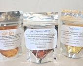 Mini Bags, TUMMY TRIO, A Digestive Blend, Peppermint, and Ginger, Essential Oil Hard Candy