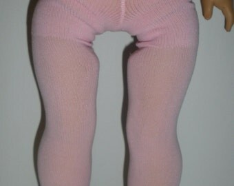 Fits 18 Inch American Girl  Doll .... Plain Pink Tights ... S4