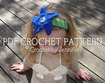Crochet Pattern for Shell Bikini Top - baby up to child sizes - Welcome to sell finished items