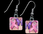 Breast Cancer Awareness Earrings(EBC3.1)