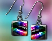 Rainbow Lips Earrings(ERain1.1)