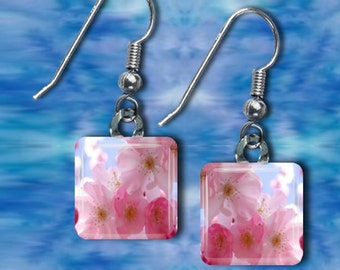 Cherry Blossom Earrings(ECuOr2.7)