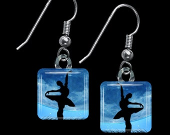 Ballerina Earrings(ECuDa2.5)