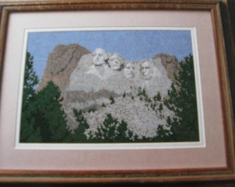 Vintage Collector's Series, National Part Needlework in Counted Cross Stitch. Designed by Cheri Fulmer