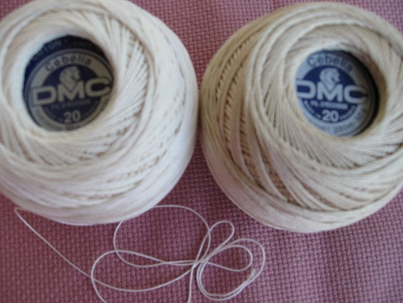 DMC Cebelia a cotton Thread, Mercerized great quality, imported from France weight 20