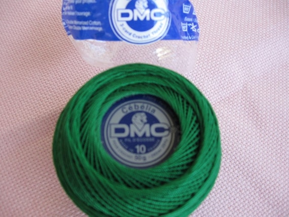 DMC Cebelia a cotton Thread, Mercerized great quality, imported from France