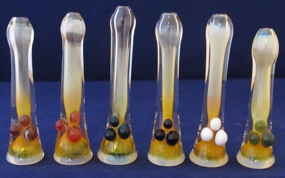Wholesale: 20 Assorted small inside silver-fumed bat