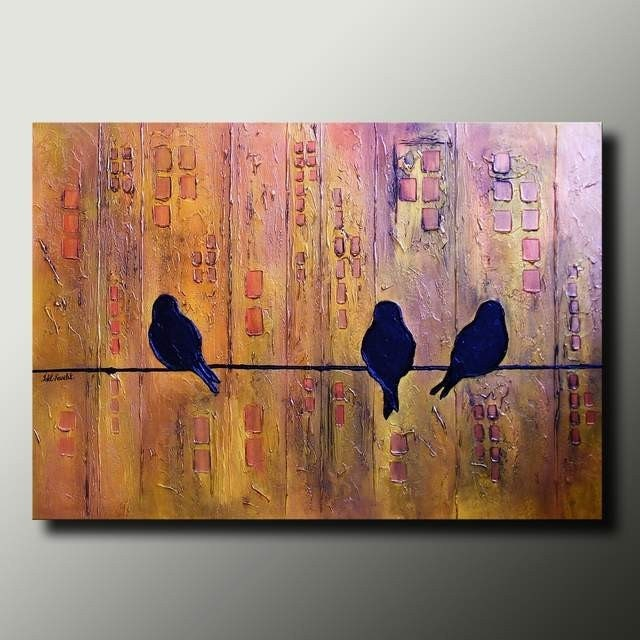 Bird paintings modern - photo#20