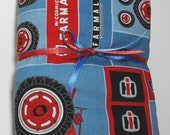 RESERVED FOR J  Window Valance Farmall Tractor
