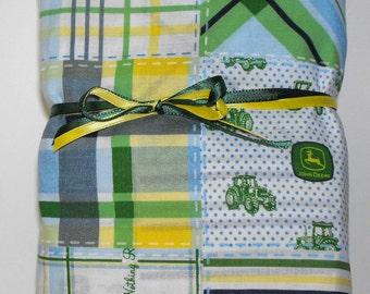 Tractor Bedding Fitted Sheet and Pillowcase for Toddlers
