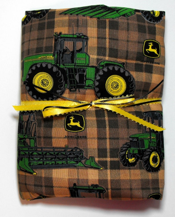 Crib Or Toddler Bed Fitted Sheet John Deere
