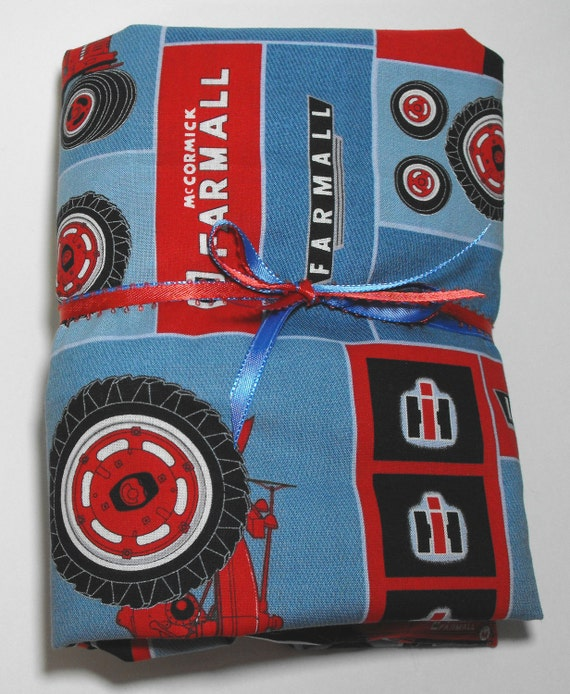 Farmall Tractor Bed Set : Farmall case ih tractor kids bedding set for crib or toddler