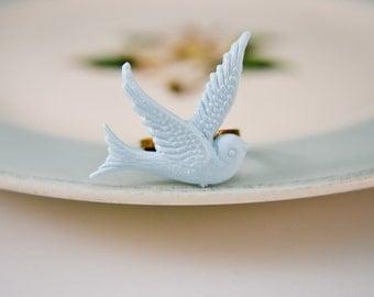 Dove Ring- Blue