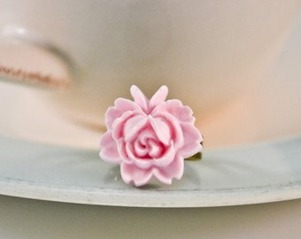 French Rose Ring- Soft Pink