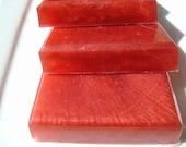Bite Me Soap, Red Soap, Homemade Soap, Pretty Soap, Bar Soap - 1/4 lb Soap - One Quarter Pound Soap